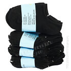 2-4 Kids Toddler Unisex Low No Show Comfort Black Socks Cotton Spandex Junior