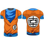 Uomo Dragon Ball Z Super Saiyan Goku Freezer T-shirt Cosplay Maglia Top Camicie