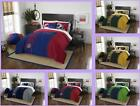 NFL Licensed 3 Piece Full Comforter & Sham Bed Set In A Bag - Choose Your Team