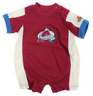 NHL Infant Colorado Avalanche Embroidered Romper, Burgundy on eBay