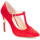 Vince Camuto SIGNATURE RENNA RED KIDSUEDE