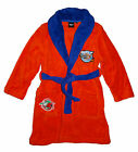 Disney Planes Coral Fleece Bademantel *orange/blau*  Gr. 98,104,116,128