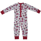 100% Cotton All-In-One/Onesie - Beautifully Soft - Red Roses-Powell Craft 2-12yr
