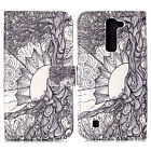 Premium Stand Flip Wallet Phone Case Cover for LG G5 Stylus 2 V10 H900 Bello Two