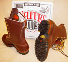White's Boots Original Smoke Jumper in Brown ~or~ NFPA Black Leather 400 Vibram