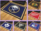NHL Licensed 5'X8' Area Rug Floor Mat Carpet Flooring Man Cave - Choose Team