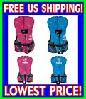 YAMAHA INFANT USCG Approved Life Vest Jacket Unisex PINK BLUE Less Than 30lbs.