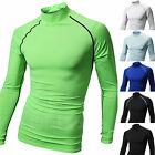 Mens Beach Water Sports Rash Guard Wetsuits Long Sleeve Summer Swimwear Top W617