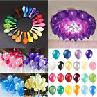 100Pcs Colorful Pearl Latex Balloon For Celebration Party Wedding Birthday 10""