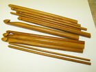1 x carbonized bamboo crochet hook - choose from 6.0mm or 6.5mm