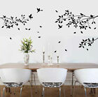 Large Tree Branches Birds Wall Art / Wall Stickers  Decals Vinyl Decor Murals
