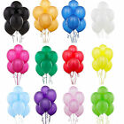 20-100pcs Colorful Pearl Latex Balloon Celebration Party Wedding Birthday 10""