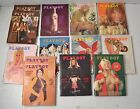 Vintage 1972 Playboy Magazines Back Issues Almost complete Year Missing February