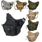 Day Packs Military Tactical Shoulder Climbing Hiking Bag Waist Pack Saddle New