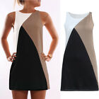 New Women Casual Sleeveless Evening Party Cocktail Dress Short Mini Casual Dress