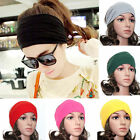 Women/Ladys  Yoga Headband Wide SportsStretch Turban Headwear Elastic Hair Band
