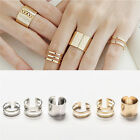 Beautful 3Pcs/Set Fashion Top Of Finger Adjustable Open Ring Jewelry Gift