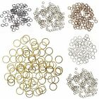 2000pcs Wholesale DIY 4mm/6mm/8mm/ Jump Rings Open Connectors Jewelry Making NEW