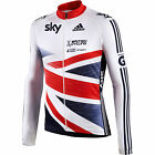 OFFICIAL GB ADIDAS SKY cycling jersey rider team issue bike top shirt LS  S M L