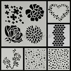Layering Stencil Template For DIY Scrapbooking Photo Album Paper Cards Craft DIY