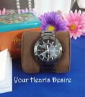 ~$195~NEW  ❋FOSSIL❋  WOMANS BLACK CERAMIC MULTI  FUNCTION BOYFRIEND WATCH~CE1001