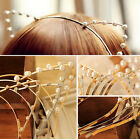 Lady Fashion Women Girls Cat Ears Pearl Rabbit Hairband Headband Cute Lovely tbu