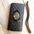 Skull phone Leather Pouch case Wallet Purse cover For Sony Xperia Z3 Z5 E5 XA XP