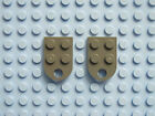LEGO 3176 Qty. 2 Plate 2x3 Round End with Hole Choose Your Color