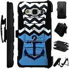 For Apple/Samsung Rugged Cover Kickstand Holster Case WAVE ANCHOR LuxGuard