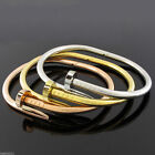 Nail Bangle Bracelet Easy open clasp Teen Young Adult 6.5 inch diameter Trendy