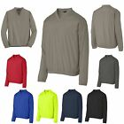 MEN'S QUIET WIND SHIRT, WINDBREAKER, UNLINED, V-NECK, PULLOVER XS-L XL 2X 3X 4X