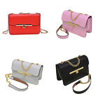 New Women PU Leather Handbag Shoulder Bag Messenger Satchel Tote Purse TB