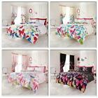 Fashion Butterfly Duvet Cover + Pillow Case Or Complete Set With Fitted Sheet