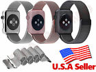 Stainless Steel Milanese Loop Magnetic Watch Band for Apple Watch iWatch 38/42mm