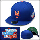 New Era 59fifty New York Mets Fitted Hat Cap 1986 World Series Side Patch MLB on Ebay