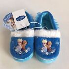 New! Disney Girl's Frozen Anna and Elsa Slippers Blue, Free Shipping!