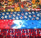 PATRIOTIC #2  FABRICS Sold INDIVIDUALLY NOT AS A GROUP By the HALF YARD