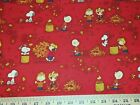 PEANUTS #3  FABRICS Sold INDIVIDUALLY NOT AS A GROUP By the HALF YARD