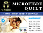 400GSM Winter Microfibre Quilt / Doona Single Double Queen / King / Super King