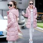 The new women's fashion in the long section down padded cotton jacket coat Slim