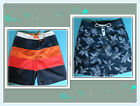 GAP Mens Swim SHORTS Beach Trunks Navy/White, Navy/Orange size L, XL NEW