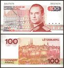 Luxembourg - 100 Francs 1980 UNC, Pick 57