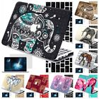 3in1 AZTEC Elephant Rubberized Hard Case Cover For New Macbook Pro Air 11 13 15