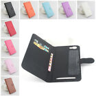 "Card Holder Flip PU Leather Protector Cover Case For 5.5"" Doogee Y200 Smartphone"
