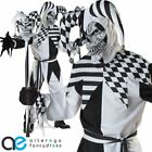 NOBODYS FOOL JESTER HALLOWEEN FANCY DRESS COSTUME ADULT MENS MEDIEVAL OUTFIT