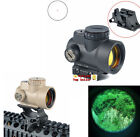 1x25 Adjustable Reflex Style MRO Red Dot Sight 2.0 MOA With High/Low Mount