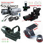 2.5-10X40 Rifle Scope W/Red Laser/Holographic Scope Sight/Mount For Hunting