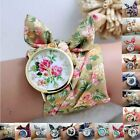 New Fashion Womens Bracelet Watches Quartz Flower Ladies Dress Analog Watch