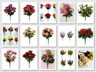 Wholesale Joblot Artificial Flowers 25 or 50 Items Mixed Styles Colours
