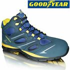 MENS GOODYEAR LEATHER LIGHTWEIGHT SAFETY TOE CAP WORK BOOTS SHOES TRAINERS SIZE